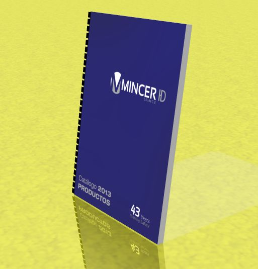 Catalogo Mincer 2013