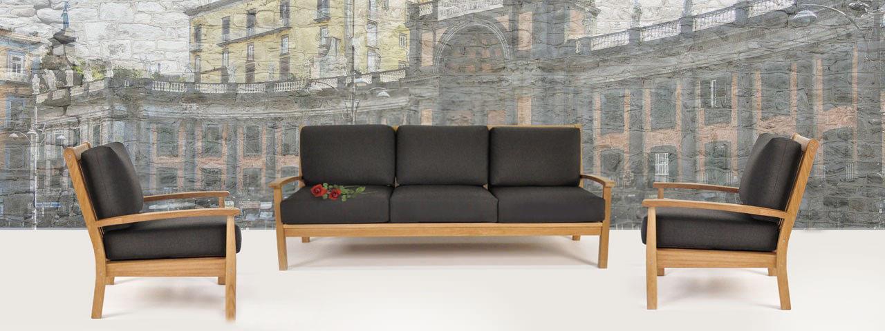Naples Teak Outdoor Furniture Collection