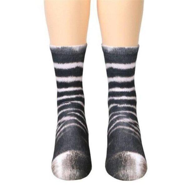 Animal Feet Printed Socks