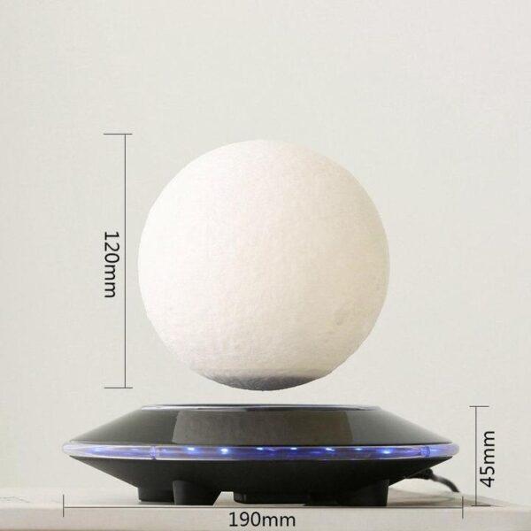 Levitating Moon Lamp