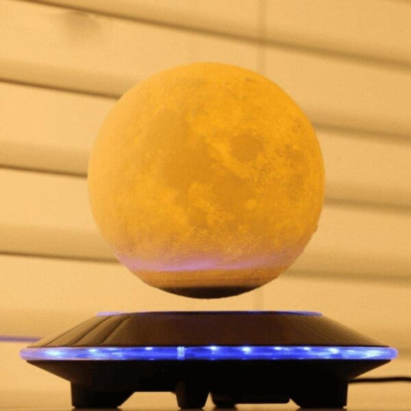 Levitating Moon Lamp - KOLLMART