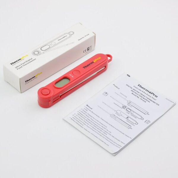 Digital Food Thermometer – Incredibly Convenient & Always Reliable!