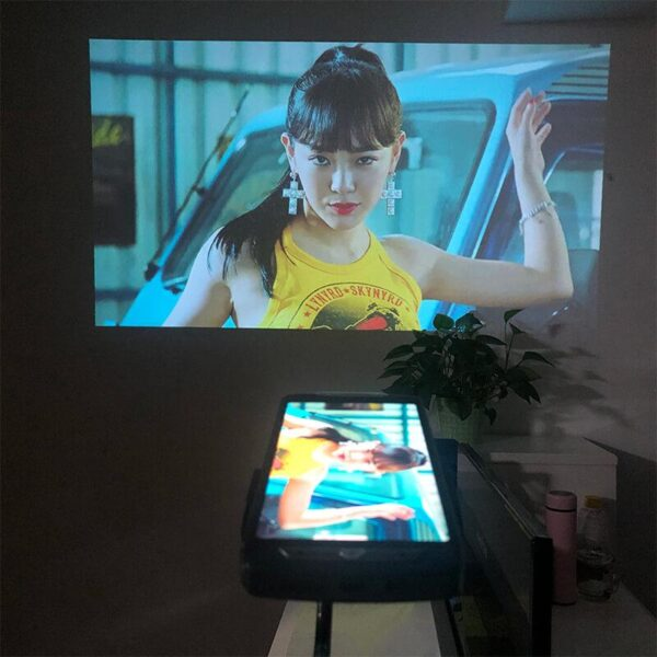 Projection Mobile Phone, All-in-One Smart HD Projector