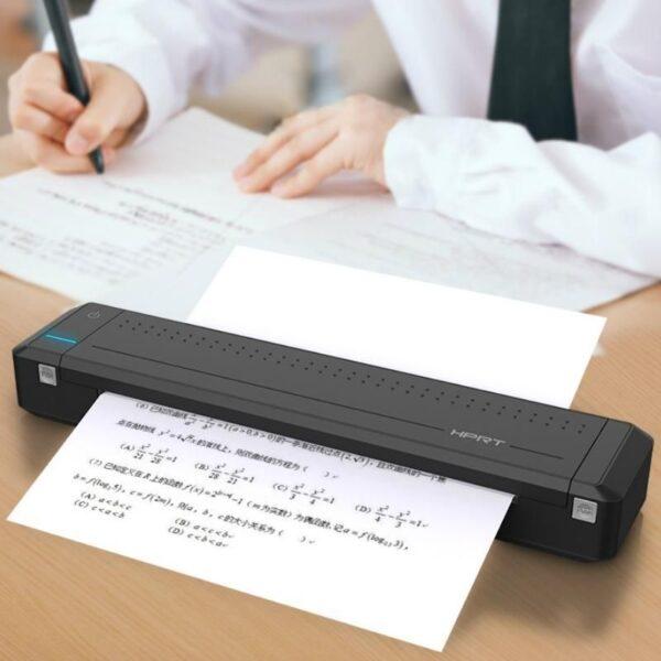 Portable Bluetooth Wireless Mini Mobile Printer