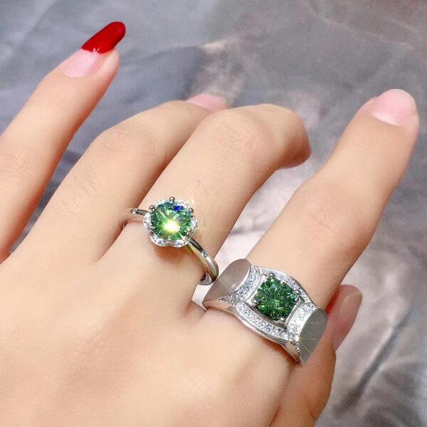 Valentine Couple Rings