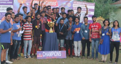 Winners of the Rotaract Charity Cup 2018.
