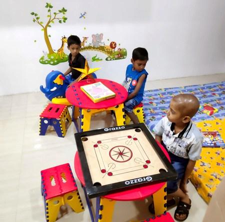 The new Rehab Centre at the ICH, Kolkata.