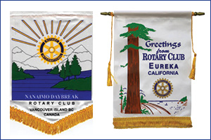 rotary banners