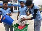 cleaning camp interact club of vishwa adarsha school 5