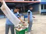 cleaning camp interact club of vishwa adarsha school 9