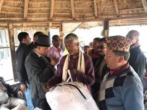 distribution of blankets rc kantipur 1