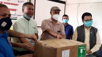 PCR handover to mechi zonal Hospital - region 7 clubs (7)