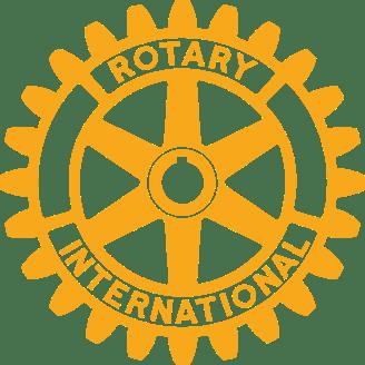 rueda rotaria dorada