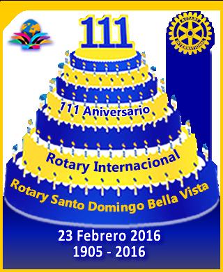 111 aniversario rotary - 2016