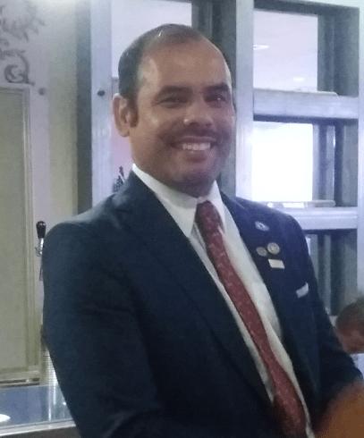 Cristian Leguizamon Pte 2016-2017 Rotary Sto Dgo Bella Vista