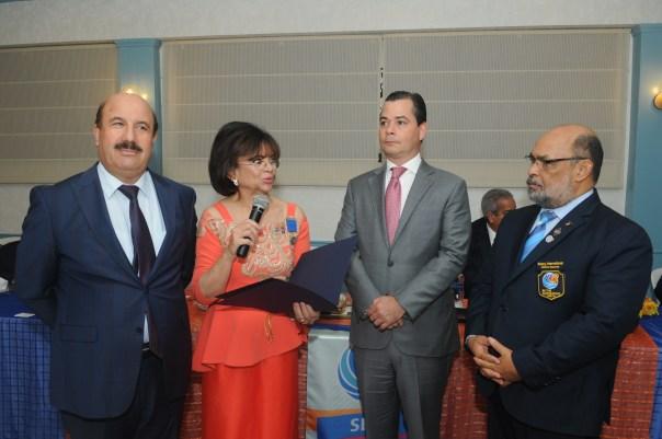 Socios Honorarios Hamdan ZRAYGAT de la República de Jordania y Omar De Marchena Diputado al Congreso Dominicano