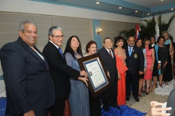 Rotary Sto Dgo Bella Vista dedica Año a Aquiles Farías