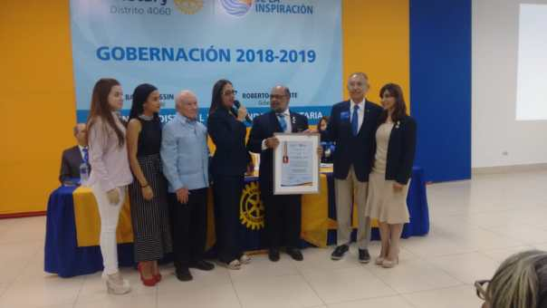 Seminario sobre la Fundación Rotaria - ¡Muchas felicidades Lilliam!