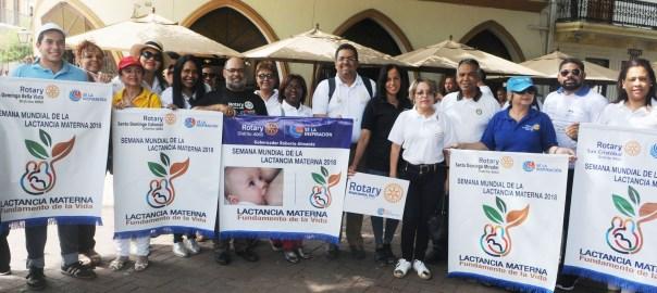 Clubes Rotarios en apoyo a la Caminata por la Lactancia Materna