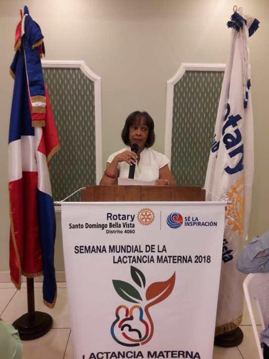 Rotary Santo Domingo Bella Vista - palabras Médico Geriata