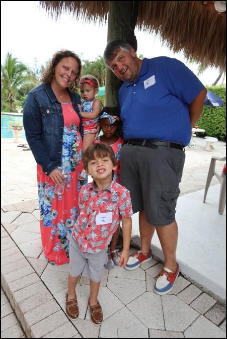 Rachel and Jody Huerta with kids Levi, Asia and Emery Grace.