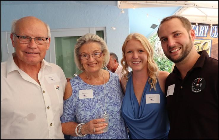 Rick & Lynda Zimmer with Ashley and Westin Fengler