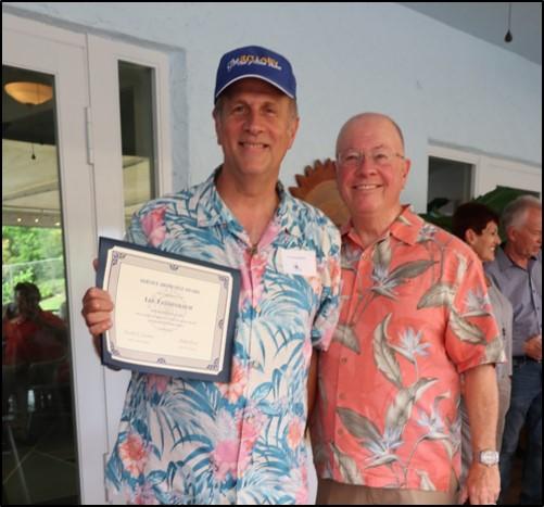Sonny Tannenbaum- Service Above Self Award