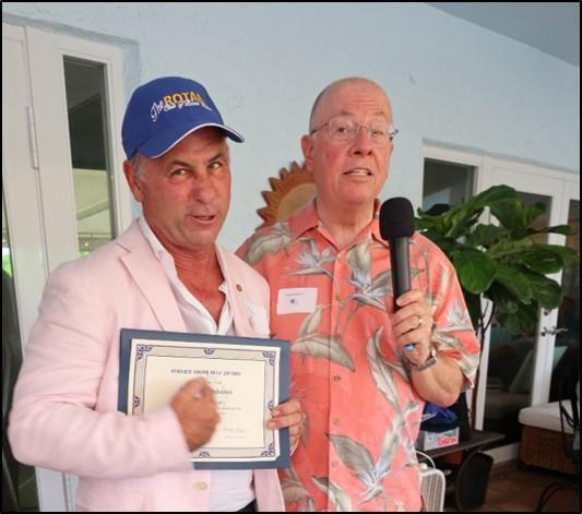 Doug Giordano – Service Above Self Award