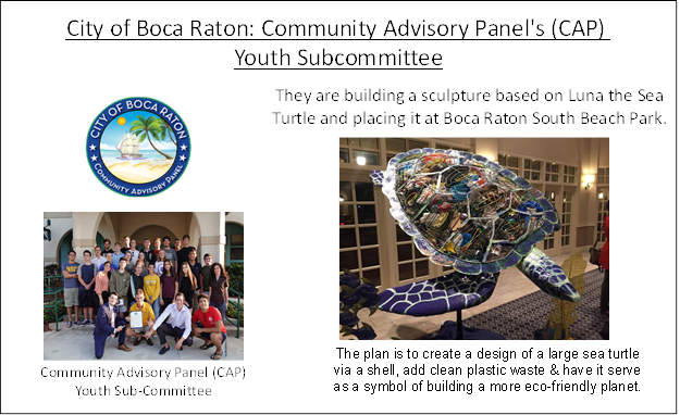 City of Boca Raton Youth Program Focuses on Environmental Awareness Project 2