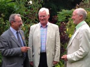 Alex, Muir & President Douglas