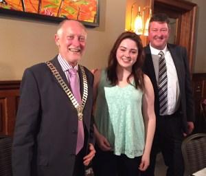 President Douglas, Laura & her Dad David