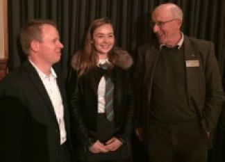 Jimmy Burwood, sarah Reid & Jimmy Begg