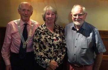 President Harry, Maggie Vooght and Johnnie Kean