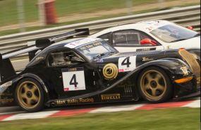 4 GT Cup Mark Bailey Racing Morgan Aero8 at Druids 2009