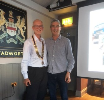 Andy Weeds, Open Blue Trust