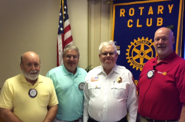 Geoffrey Tennant – Paul Harris Fellow – Rotary Club of Tryon