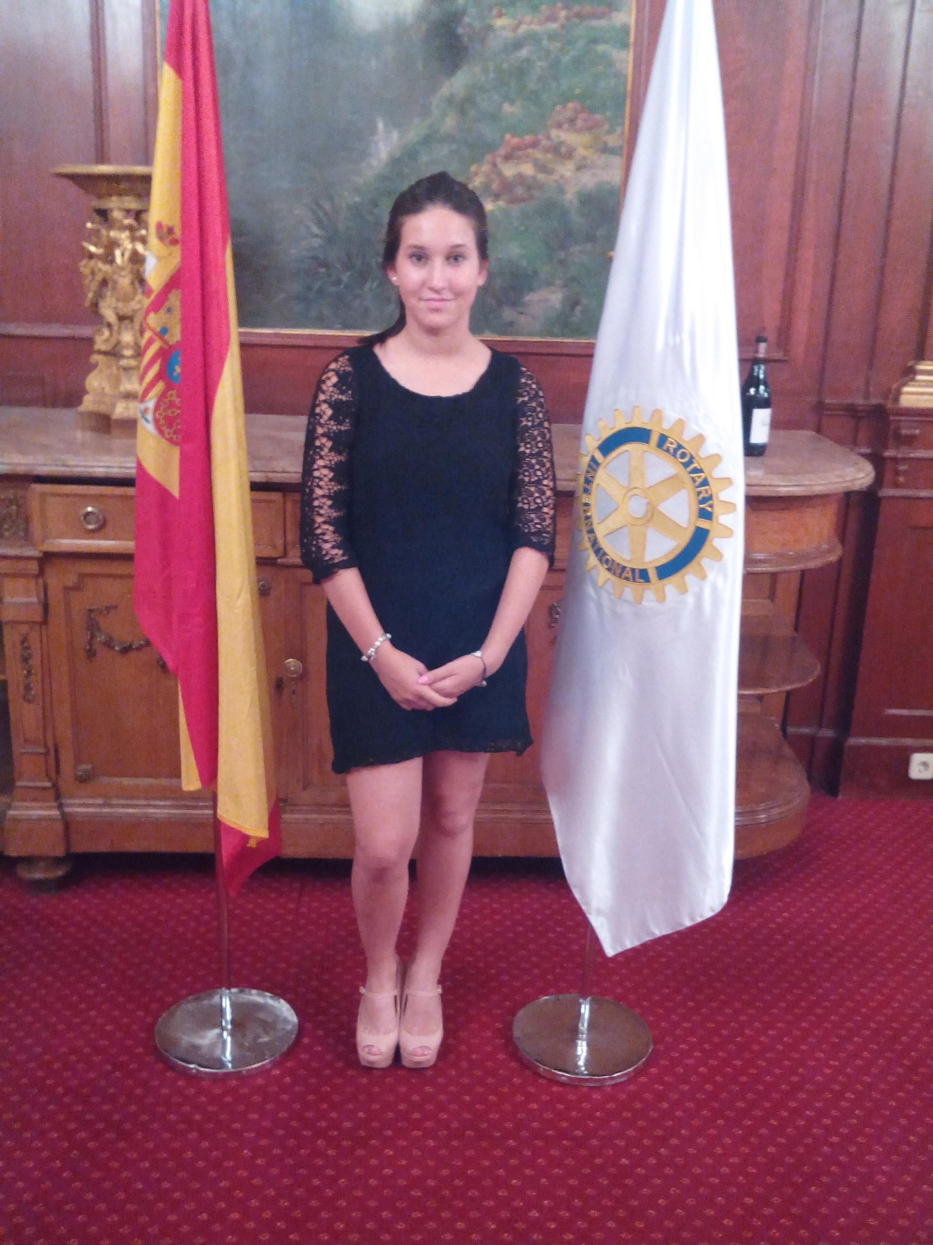 LAURA GOMEZ NAVAS ESTUDIANTE DE INTERCAMBIO PARA ESTUDIAR EN EEUU AÑO ECOLAR 2014-2015