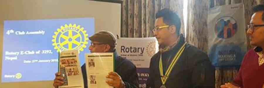 Rotary E-club Newsletter 2nd issue