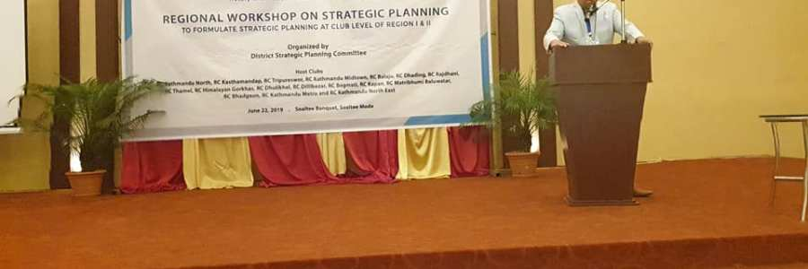 Regional Strategic planning workshop
