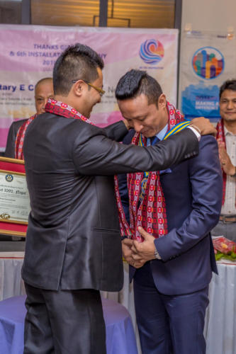 Thanks Giving and 6th Club Installation- 21 July 2018