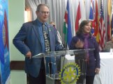 Kent Converse, do Kansa (EUA) visita o RCJFN