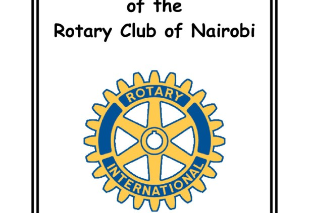 thumbnail of Constitution and Bylaws of the Rotary Club of Nairobi