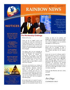 thumbnail of RAINBOW NEWSLETTER ISSUE 34 – APRIL 2017