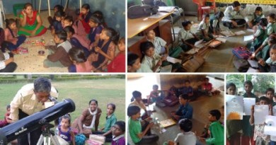 Learning camps and Camp Galileo in progress in the village schools.