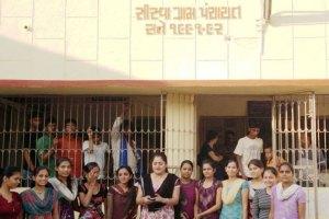 The all-women Gram Panchayat of Sisva.