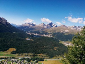 A view of the enthralling Swiss lanscape.