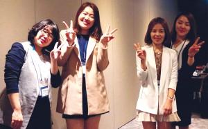 The Rotary Korea team.
