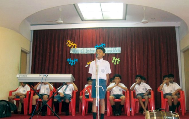 RI District 3170 <br/> Singing competition conducted for school students and general public.