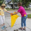 Rotarians clean-up Rockford neighbourhood