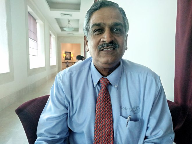 <strong>Ananth HR, </strong>Publishing, RC Bangalore West, D 3190
